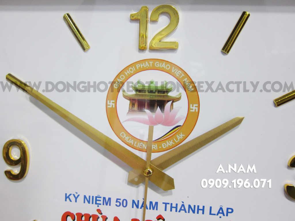 đồng hồ treo tường quà tặng đẹp - dong ho treo tuong qua tang dep