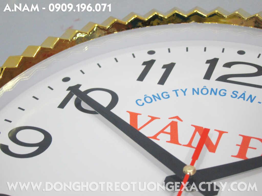 đồng hồ treo tường quà tặng khuyến mãi - dong ho treo tuong qua tang khuyen mai
