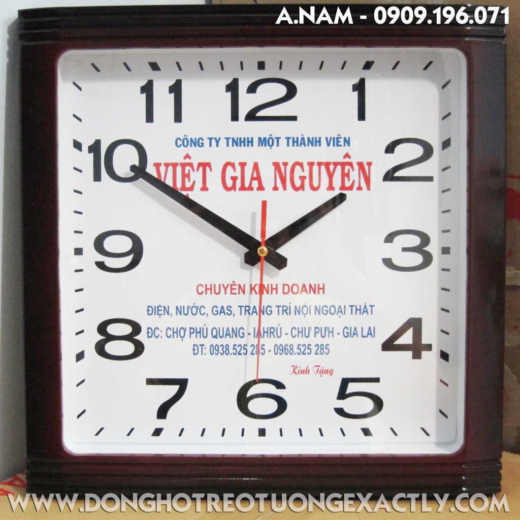 đồng hồ treo tường U340 | dong ho treo tuong U340