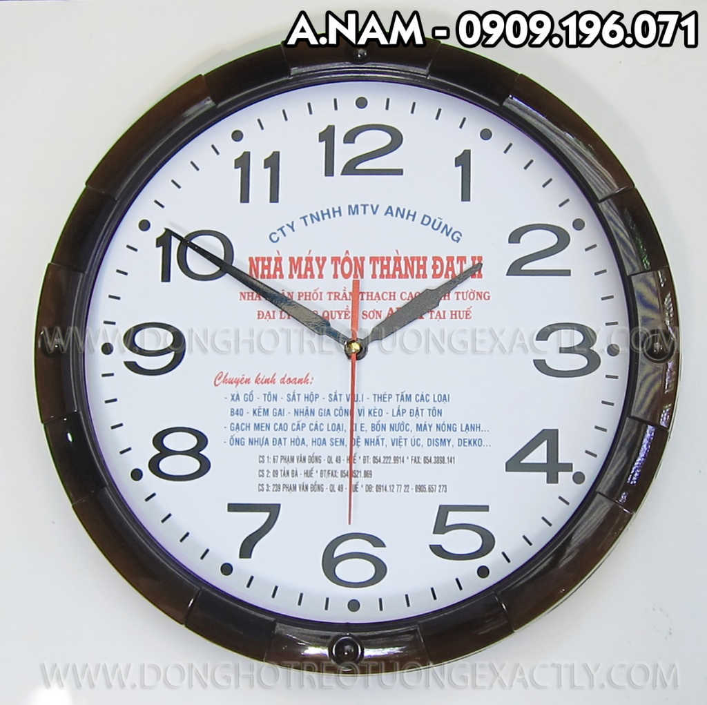 đồng hồ treo tường quà tặng | dong ho treo tuong qua tang