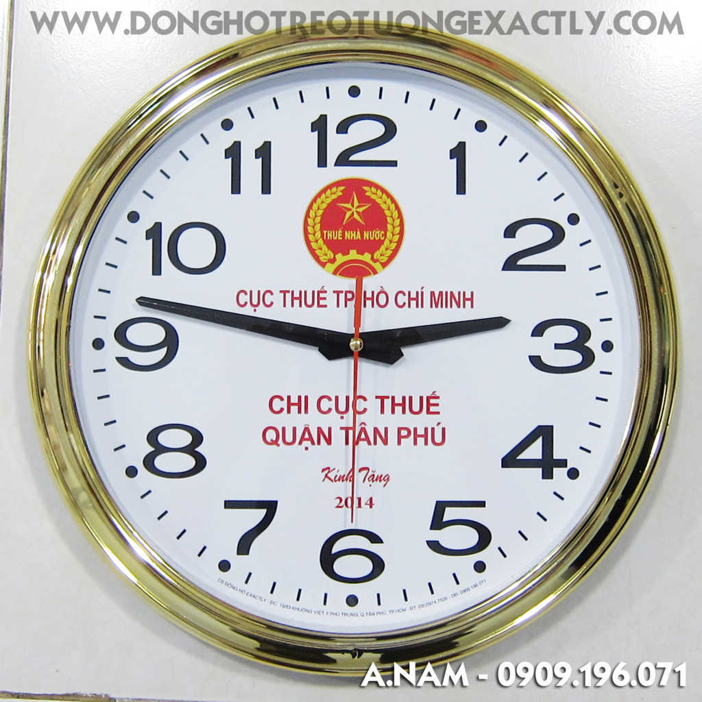 đồng hồ treo tường đẹp - dong ho treo tuong dep