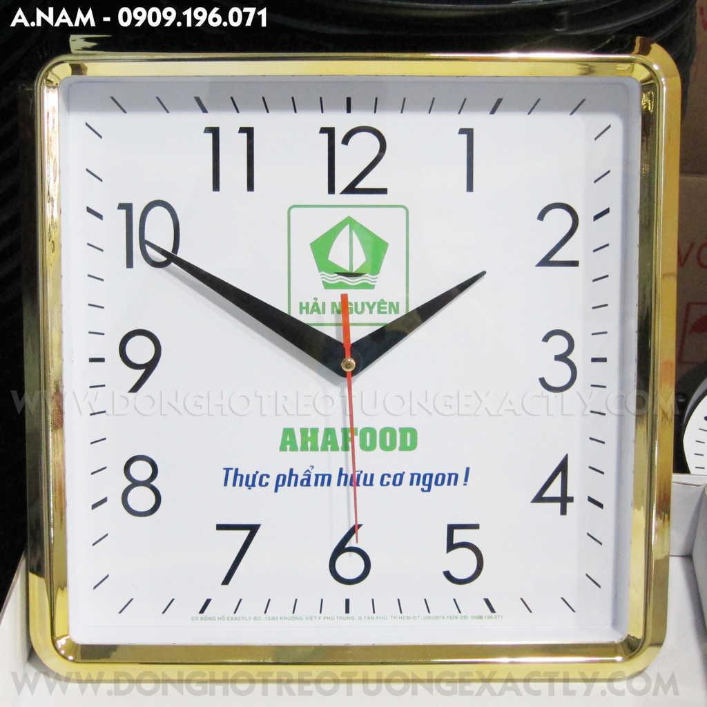 đồng hồ treo tường quà tặng quảng cao - dong ho treo tuong qua tang quang cao