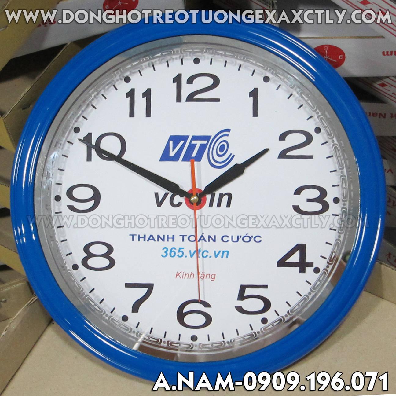 đồng hồ treo tường VTC vcoin