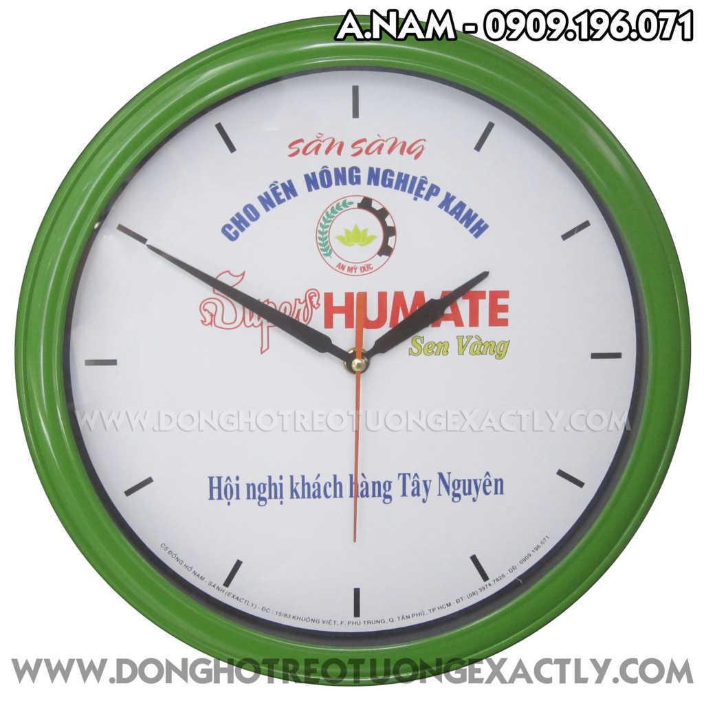 đồng hồ treo tường cho khách hàng - dong ho treo tuong qua tang khach hang