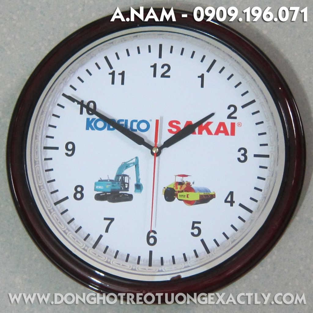 đồng hồ treo tường quà tặng khách hàng - dong ho treo tuong qua tang khach hang