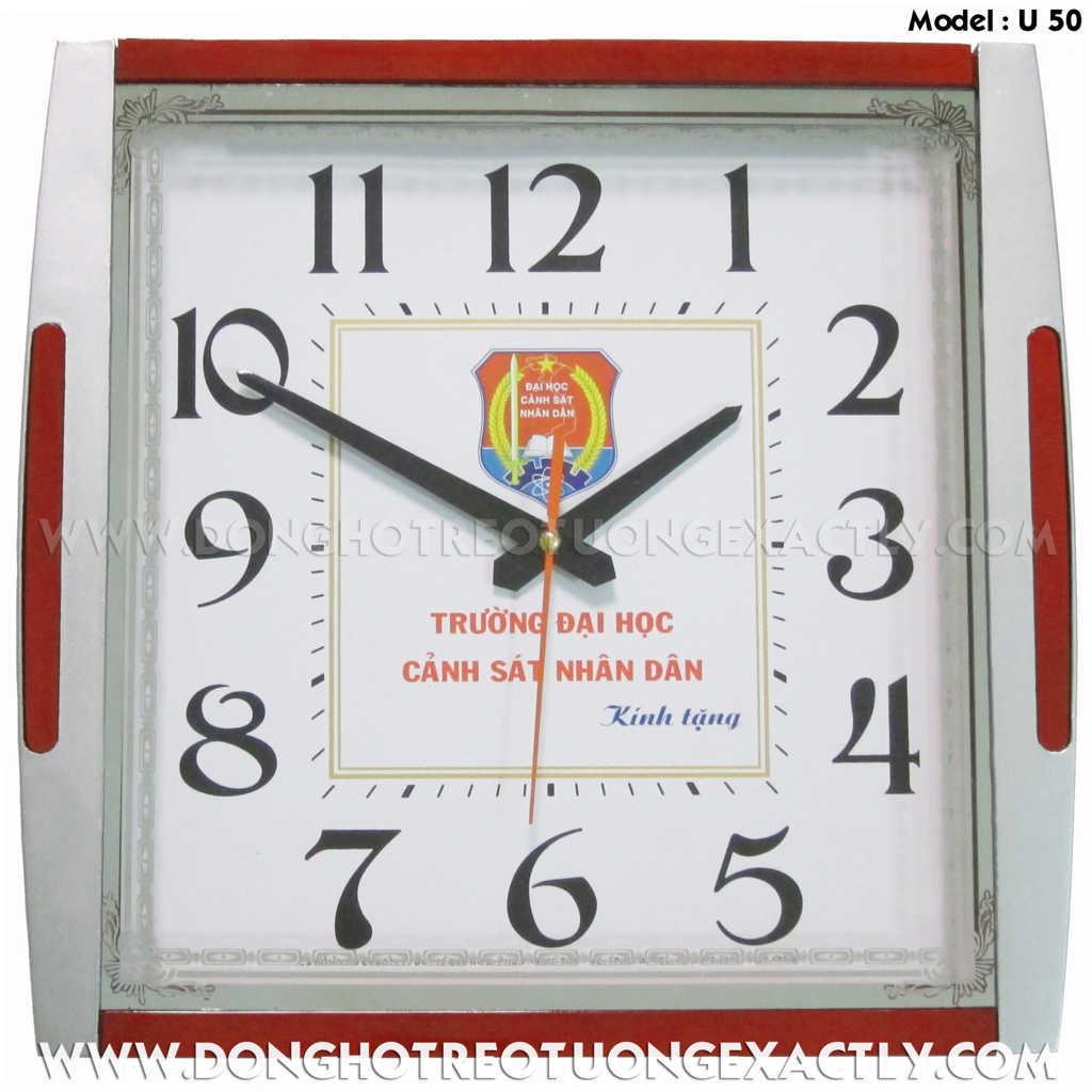 đồng hồ treo tường - dong ho treo tuong, Model: U50 0909.196.071 A+NAM