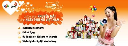 Khuyến Mãi Mừng Ngày Phụ Nữ Việt Nam 20/10