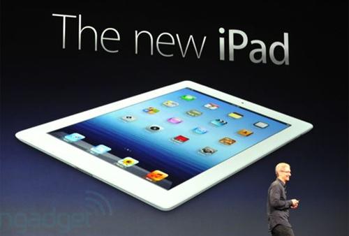 Mua New iPad online được giảm giá 2%