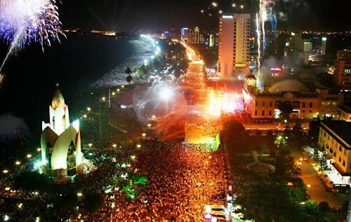 Khánh Hòa: Nhiều hoạt động vui chơi Tết Dương lịch 2015