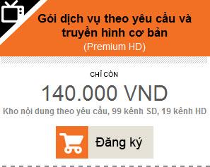Truyền hình FPT gói 140K