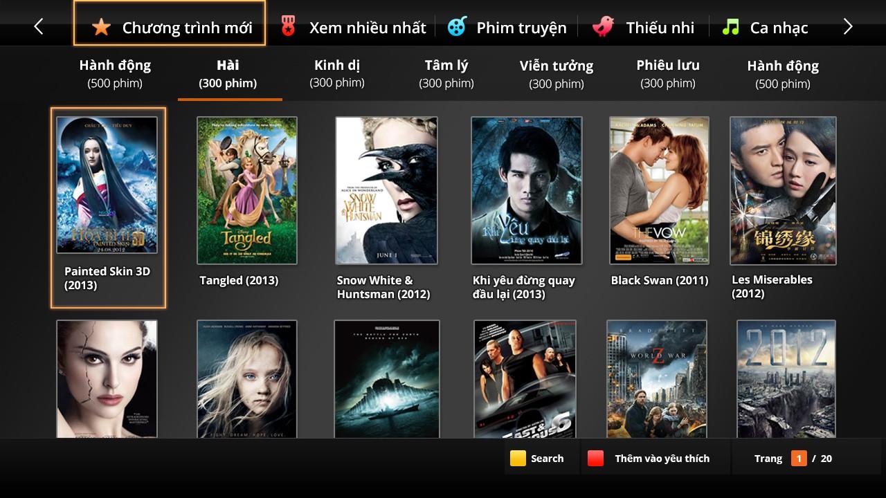 Kho phim truyện FPT Play HD
