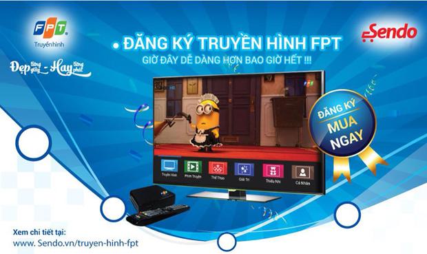 Truyền hình FPT trên sendo.vn