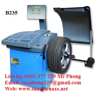 Máy cân băng động bánh xe B235 HPA