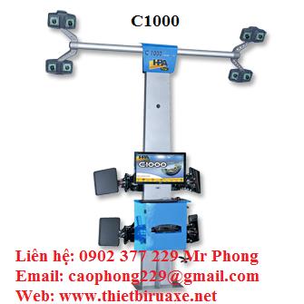 Thiết bị kiểm tra góc đặt bánh xe C1000 Inext