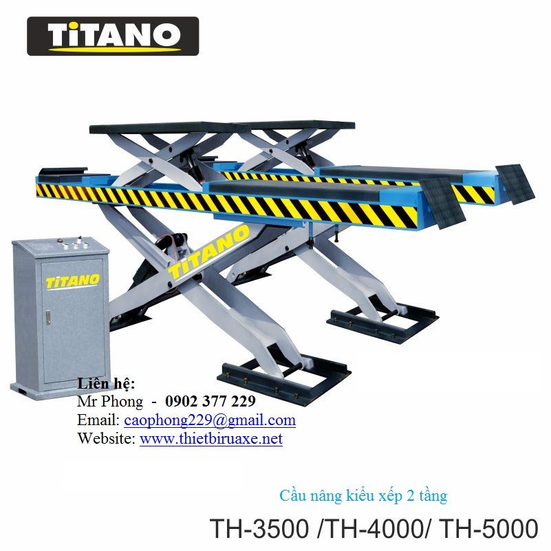Cầu nâng 4 trụ T4000B