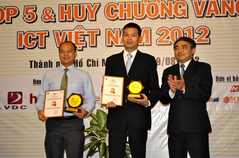 FPT Telecom đạt Huy chương vàng đơn vị Internet, viễn thông 2012