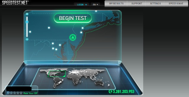 Công cụ kiểm tra tốc độ truy cập Internet