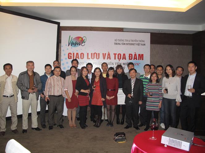VNNIC tổ chức buổi giao lưu và tọa đàm về hợp tác phát triển tên miền với các Nhà đăng ký.