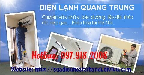 BẢO DƯỠNG BỔ SUNG GA ĐIỀU HÒA TẠI HÀ NỘI 097.918.2008