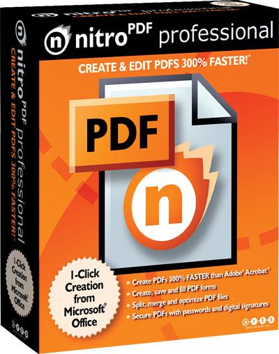Tạo chỉnh sửa file PDF chuyên nghiệp với Nitro PDF Pro 9