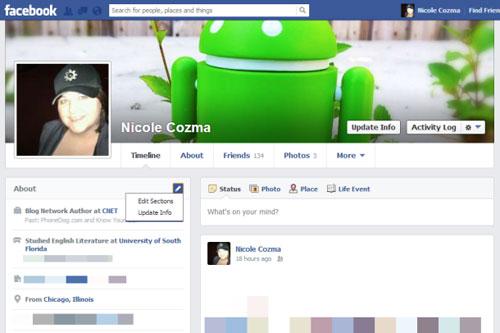 Hướng dẫn tạo giao diện timeline facebook theo cá nhân