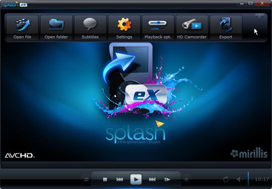Phần mềm xem phim HD - Mirillis Splash PRO EX 1.12.2 Full Serial