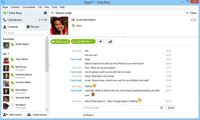 Phần mềm chat nhắn tin gọi điện miễn phí trên máy tính - Download Skype 6.5.0.158 Full