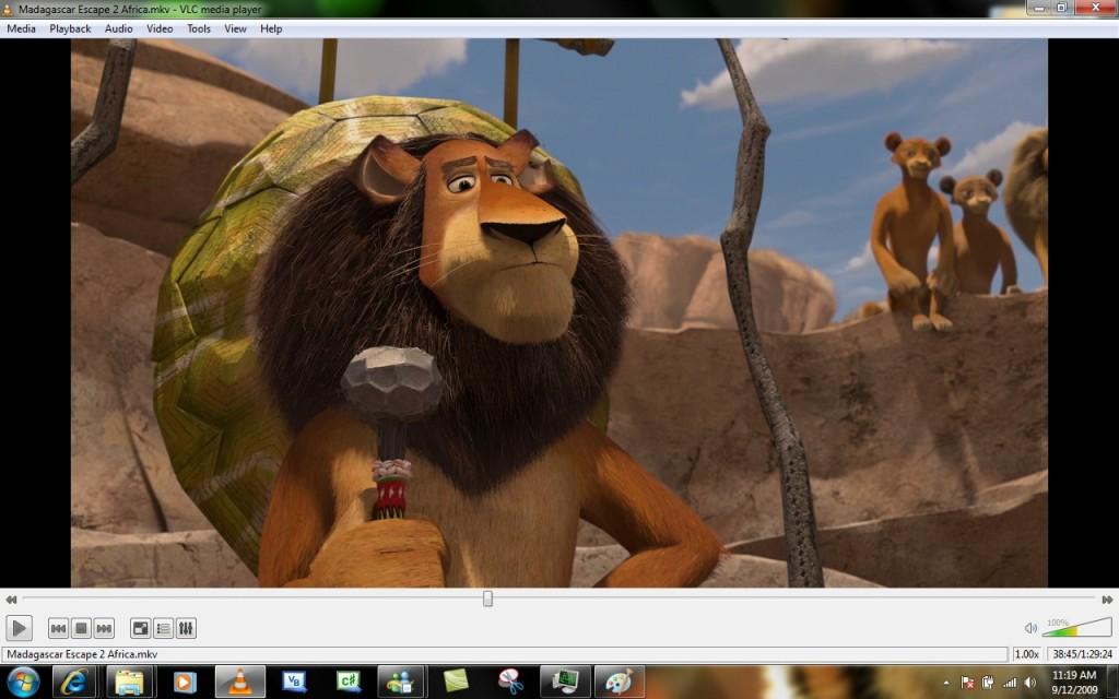 Tải phần mềm nghe nhac xem phim VLC Media Player Full 2013