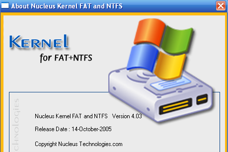 Phần mềm khôi phục dữ liệu mạnh nhất - Nucleus Kernel FAT and NTFS