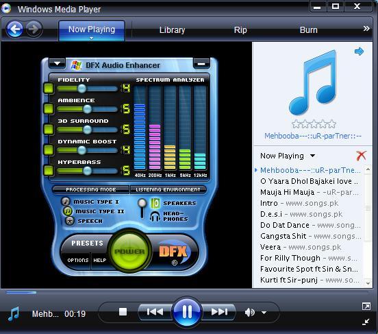 Phần mềm hỗ trợ nghe nhạc