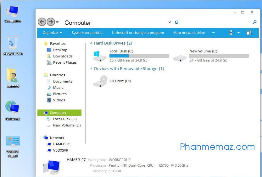 Giao diện windows 9 cực đẹp cho windows 7 của bạn
