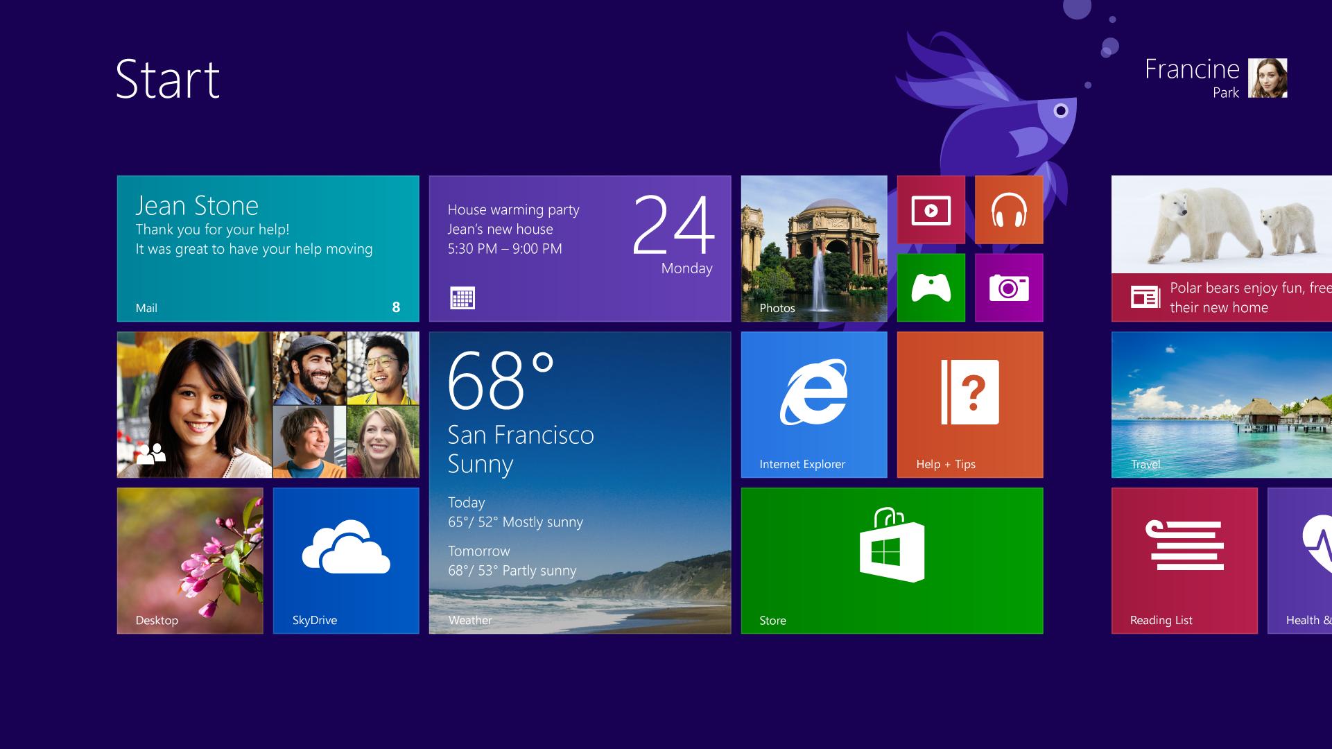 Hệ điều hành Windows 8.1 có khả năng nhận dạng ngôn ngữ tự nhiên