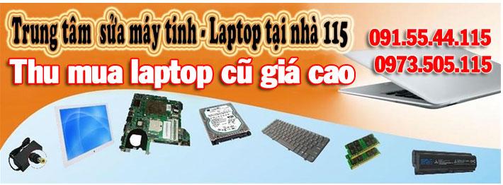 thu mua laptop cũ giá cao tại nhà