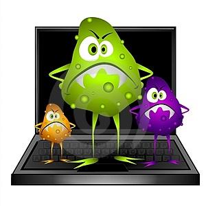 Cách phát hiện máy tính bị nhiễm virus