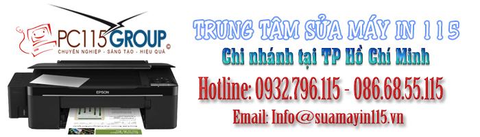Sửa máy in tại quận Phú Nhuận - TP HCM
