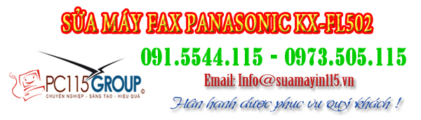 Sua chua may fax KX-FL 502 tai nha ha noi