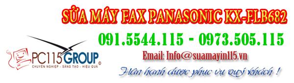 Sua chua may fax panasonic KX-FLB682