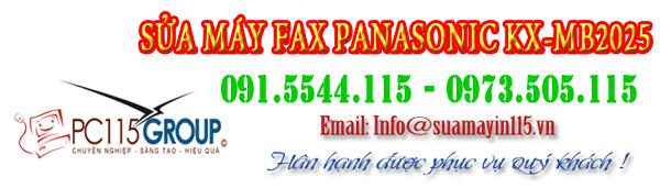 Sua chua may fax Panasonic KX-MB2025