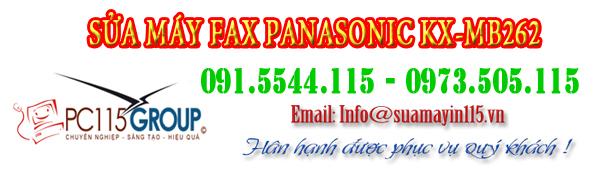 sua chua may fax panasonic KX-MB262