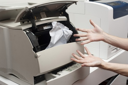 Mẹo khắc phục lỗi kẹt giấy máy in