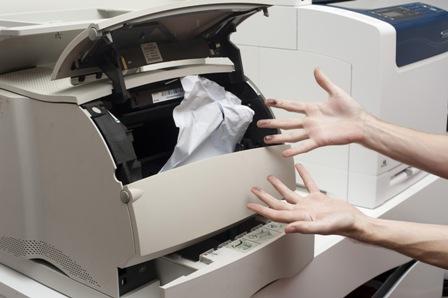 Cách xử lý kẹt giấy