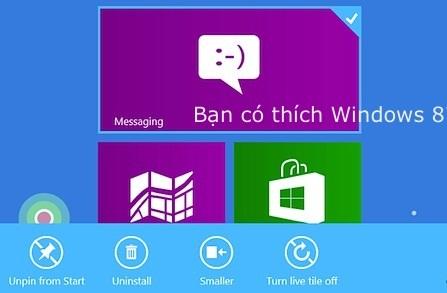 Ban co thich su dung windows 8