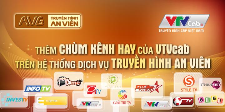 Truyền hình An Viên thêm gói kênh của VTVCap