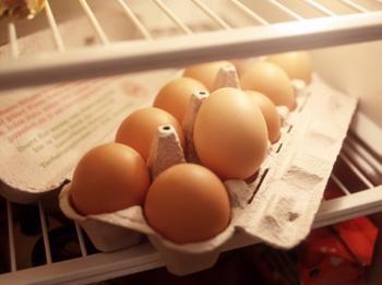 Thời gian bảo quản trứng trong tủ lạnh hợp lý