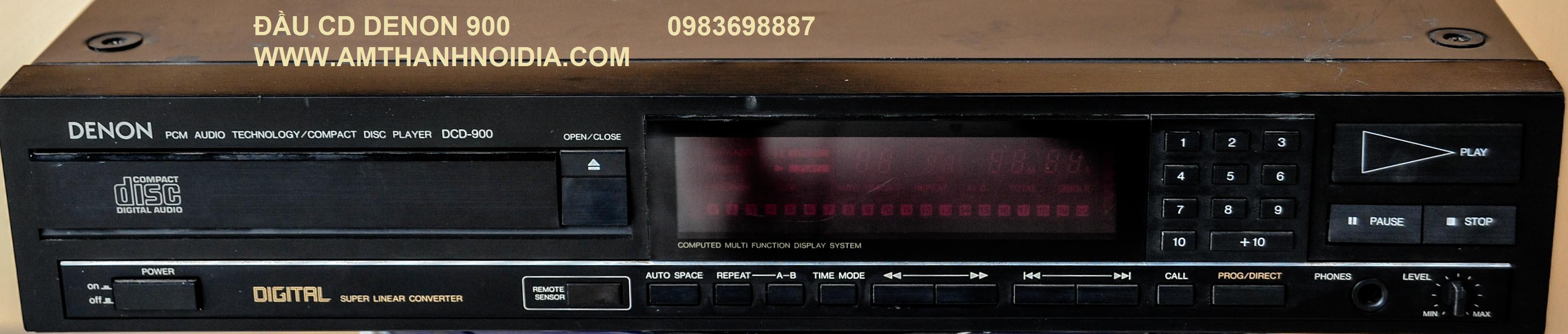 CD DENON 900