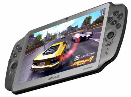 Archos GamePad – Tablet chơi game chuyên dụng chạy Android 4.0