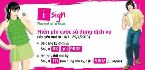 Chữ ký cuộc gọi iSign Viettel