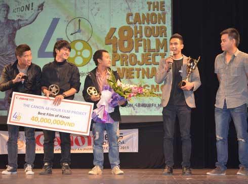 """Nhân viên Viettel đạt giải nhất cuộc thi """"Làm phim 48h"""""""