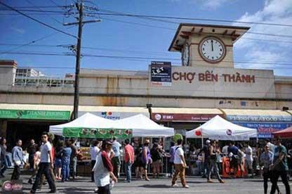 Thử nghiệm bán hàng trực tuyến cho chợ Bến Thành