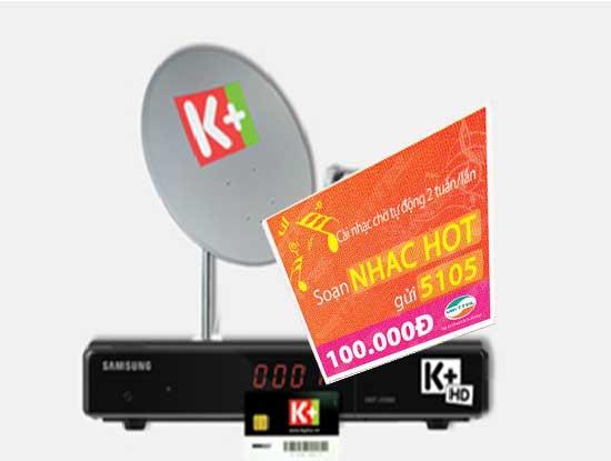 Dùng thẻ cào Viettel gia hạn dịch vụ k+